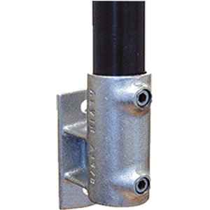 offset railing flange
