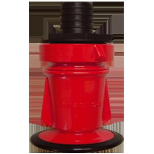 Red jet spray nozzle